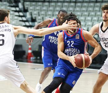 Beşiktaş: 74 - Anadolu Efes: 81
