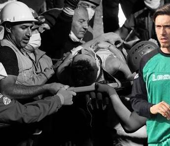 Amatör futbolcu kurtarıldı ama annesinden acı haber!