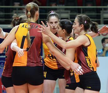 Galatasaray HDI Sigorta 3-1 Khimik