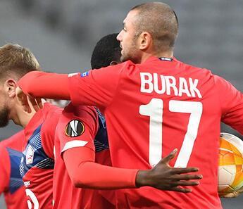 Burak Yılmaz, Lille'i ipten aldı!