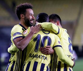 Fenerbahçe, Türkiye Kupası'nda çeyrek finalde! Kasımpaşa tek golle yıkıldı
