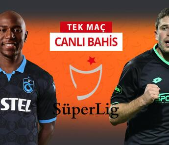 Son 4 lig maçından sadece 2 galibiyet çıkartabildi! Trabzon'un Konya karşısında iddaa oranı...