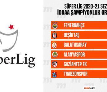 Süper Lig'de şampiyonluk oranları güncellendi! Galatasaray, Beşiktaş'a kaybedince iddaa'da...