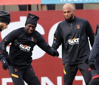 Galatasaray taktik çalıştı!