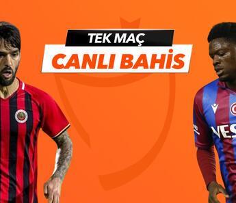 Gençlerbirliği'nde Sio, Stancu ve Candeias dönüyor! Trabzonspor'a verilen iddaa oranı...