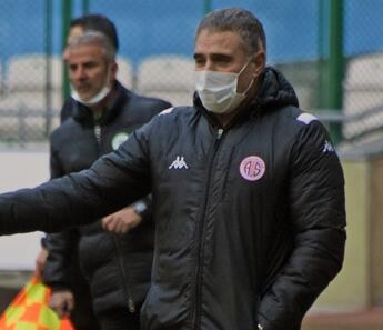 """Antalyaspor TD Ersun Yanal: """"Önümüzdeki maçlara hazırız..."""""""