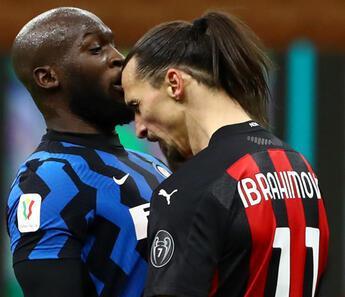 Ibrahimovic ve Lukaku arasında gerginlik yaşandı
