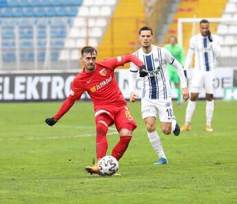 Kasmıpaşa 0-1 Kayserispor (Maçın özeti)