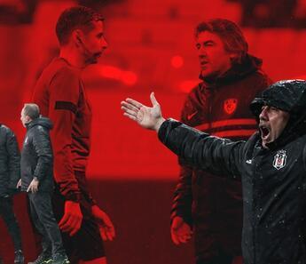 Beşiktaş-Gaziantep FK maçında kulübeler arasında gerginlik! Düdük sonrası çılgına döndü