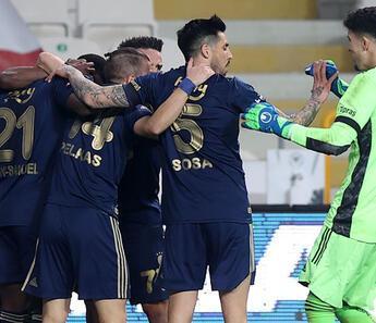 Fenerbahçe Konya'da hata yapmadı!