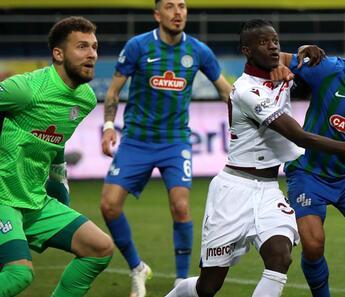 Trabzonspor'un rakip kalecilerle sorunu var!