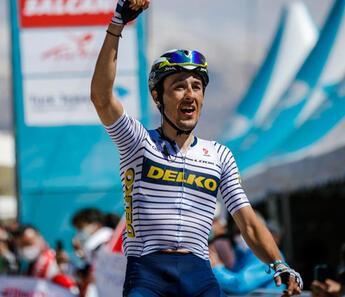 56. Cumhurbaşkanlığı Türkiye Bisiklet Turu'nun 5. etabını Jose Manuel Diaz Gallego kazandı