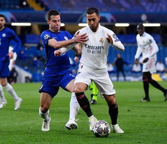 Chelsea - Real Madrid maçından çok özel fotoğraflar!