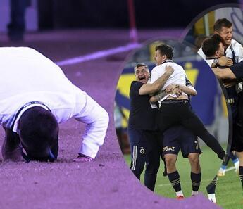 Ankaragücü-Fenerbahçe maçında Valencia'nın golü sonrası Emre Belözoğlu'ndan olay yaratan sevinç!