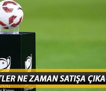 Ziraat Türkiye Kupası final maçı biletleri ne zaman satışa çıkacak? ZTK final maçı için seyirci kararı!