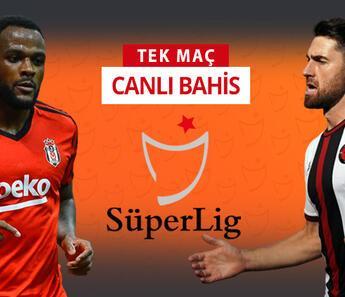 Beşiktaş'ta 6, Fatih Karagümrük'te 5 eksik! Bu maça iddaa oynayanların %41'i...