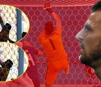 Son dakika haberi... EURO 2020'deki Slovakya - İspanya maçında inanılmaz hata! Top direkten döndü ama Dubravka...