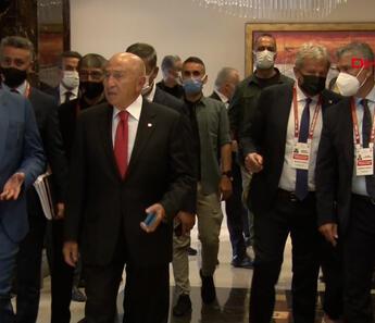 Ankara'da düzenlenen Türkiye Futbol Federasyonu (TFF) Olağan Genel Kurulu başladı.