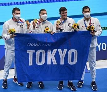 Tokyo 2020'de ABD'den dünya rekoru! Altın madalya...