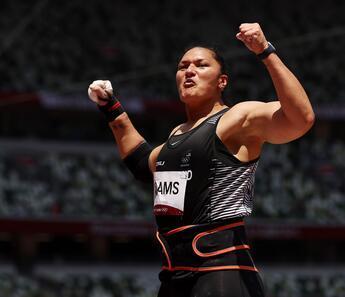 Tokyo 2020'de bronz madalya kazanan Valerie Adams'tan tarihi başarı!