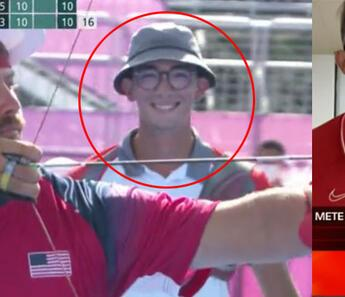 Son dakika: Olimpiyat şampiyonu Mete Gazoz, CNN Türk canlı yayınına çıktı! Çok konuşulan o görüntünün sebebini anlattı...