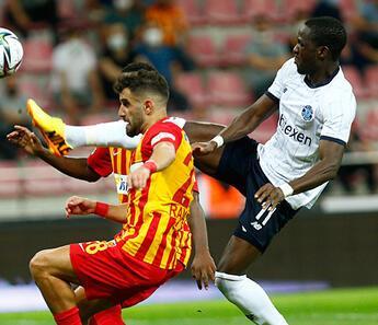 Kayserispor 1-1 Adana Demirspor (Maçın özeti ve golleri)