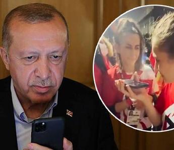 Cumhurbaşkanı Erdoğan'dan kadın golbol milli takımımıza tebrik telefonu