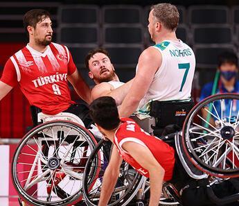 Paralimpik Oyunları tekerlekli sandalye basketbolda Türkiye 6. oldu