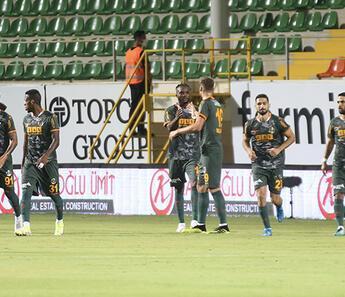 Son Dakika: Alanyaspor 1-0 Giresunspor / Maç sonucu