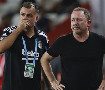 Beşiktaş'ta Sergen Yalçın'dan maç sonu 'sakatlık' yorumu! 'Acayip şeyler oldu'