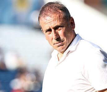 Trabzonspor'da Abdullah Avcı'dan A Milli Takım yanıtı