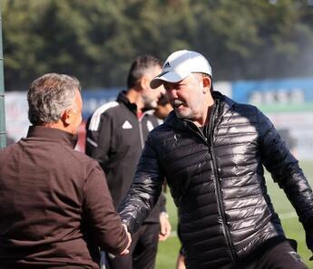 Beşiktaş Başkanı Çebi, derbi hazırlıklarını izledi
