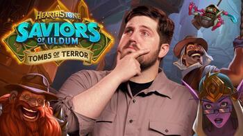 Hearthstone: Tombs of Terror 17 Eylül'de oyunculara sunuluyor