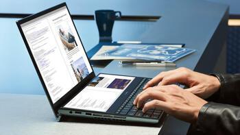 Dünyanın ilk 4K ve OLED çift ekranlı dizüstü bilgisayarı Türkiye'de satışa çıktı