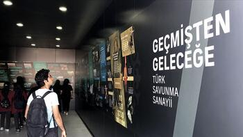 'Geçmişten Geleceğe Türk Savunma Sanayii' TEKNOFEST'te sergileniyor