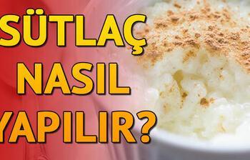 Sütlaç nasıl yapılır? Ramazan tatlısı tarifleri