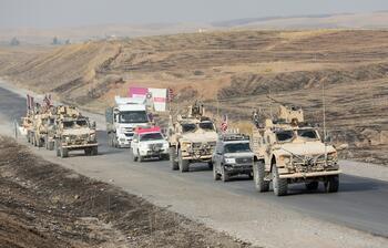 Suriye'den çekilen ABD askerleri Irak'a gidiyor