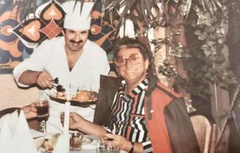 Ünlülerin Almanya'daki aşçısı Fevzi usta