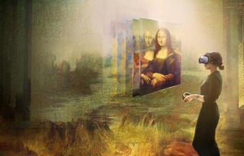 Leonardo da Vinci sergisi: Sanal gerçeklikte Mona Lisa