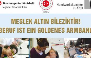 Köln'de 'Meslek altın bileziktir' etkinliği