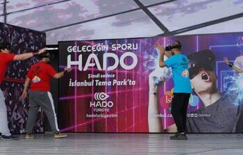 """Artırılmış gerçeklik sporu """"Hado"""" Türkiye'de"""