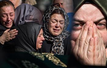 Bakırköy'de hayatını kaybeden aileye en acı veda
