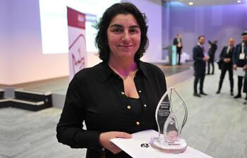 Türk doktor Dilek Gürsoy, Alman Tıp Ödülü'nü aldı