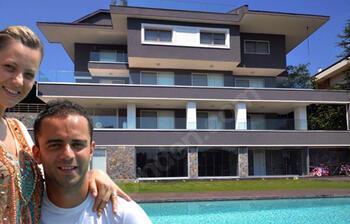Semih Şentürk ve eşi Pınar Şentürk villalarını satıyorlar