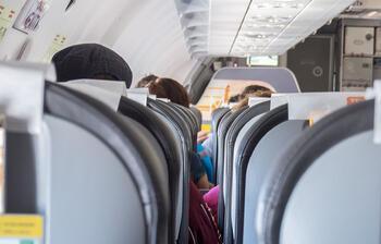AB'de 1.1 milyar kişi hava yolunu seçti