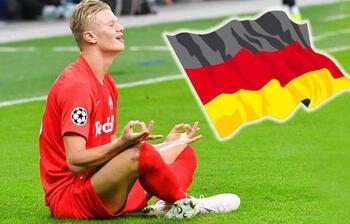 Haland, Almanya yolunda!