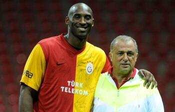 Galatasaray ve Kobe Bryant... Türk Telekom Stadyumu'nda o anlar