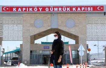 Van'da Kapıköy Gümrük Kapısı'nda 'koronavirüs' önlemleri