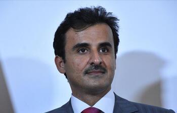Katar Emiri Temim'den Ürdün'e ziyaret