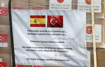 Türkiye'den İspanya ve İtalya'ya tıbbi yardım! Dikkat çeken mesaj